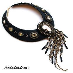 elegancki,biżuteria wieczorowa,efektowny,glamour - Naszyjniki - Biżuteria