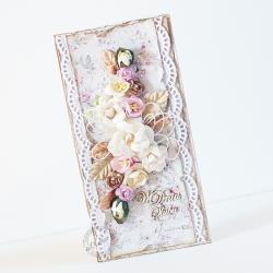 ślub,kwiaty - Kartki okolicznościowe - Akcesoria