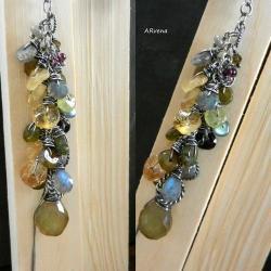 srebro oksydowane,biżuteria autorska, - Naszyjniki - Biżuteria
