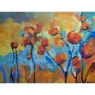 Obrazy kwiaty,pomarańcz