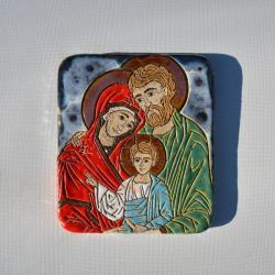 Beata Kmieć,ikona ceramiczna,ikona,obraz - Ceramika i szkło - Wyposażenie wnętrz
