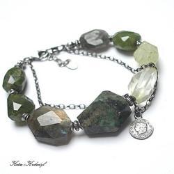 kamienie,minerały - Bransoletki - Biżuteria