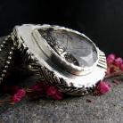 Naszyjniki srebro,kwarc,turmalin,naszynjik,etno,wisior