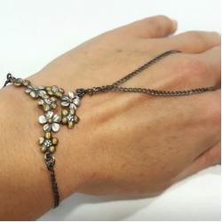 srebro,oksyda,bransoeltka - Bransoletki - Biżuteria