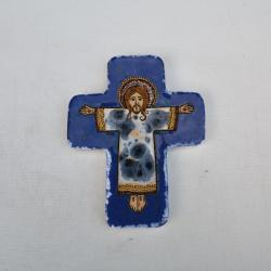 Beata Kmieć,ikona ceramiczna,ikona,krzyż - Ceramika i szkło - Wyposażenie wnętrz