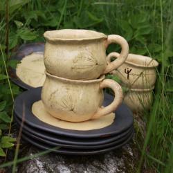 ceramika,kubek,rękodziełotalerz,patera,komplet, - Ceramika i szkło - Wyposażenie wnętrz
