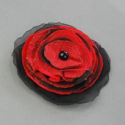broszka,kwiatek,taniec,flamenko - Broszki - Biżuteria