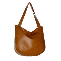 brązowa torebka na ramię,brązowa torba,hobobag - Na ramię - Torebki