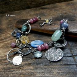 letnia bransoletka,kolorowa bransoletka - Bransoletki - Biżuteria