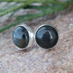 kolczyki,srebrne,sztyfty,misterne,drobne,kobiece - Kolczyki - Biżuteria