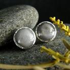 Kolczyki srebro,szafir,kolczyki,sztfty
