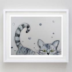 kotek - Obrazy - Wyposażenie wnętrz