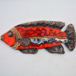 Beata Kmieć,ryba ceramiczna,dekor, - Ceramika i szkło - Wyposażenie wnętrz
