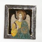 Ceramika i szkło ikona,anioł,Michał,ceramika,obraz,Kmieć