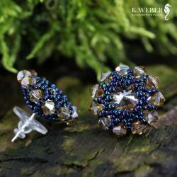 kolczyki drobne,krótkie,eleganckie - Kolczyki - Biżuteria