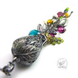 baśniowy,tajemniczy,wróżkowy,naszyjnik,minerały - Naszyjniki - Biżuteria