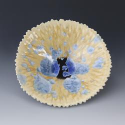 patera,misa,karbowana,porcelana,ceramika - Ceramika i szkło - Wyposażenie wnętrz