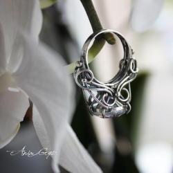 topaz mystic,efektowny pierścionek,romantyczny - Pierścionki - Biżuteria