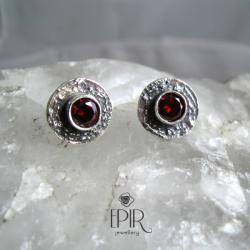 Kolczyki srebrne z cyrkonią - Kolczyki - Biżuteria