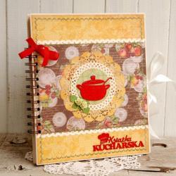 przepiśnik,notes,na przepisy,notatnik kulinarny - Notesy - Akcesoria